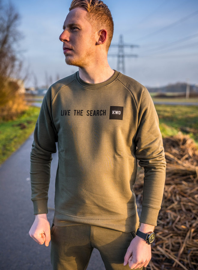 KWO Live The Search Sweater
