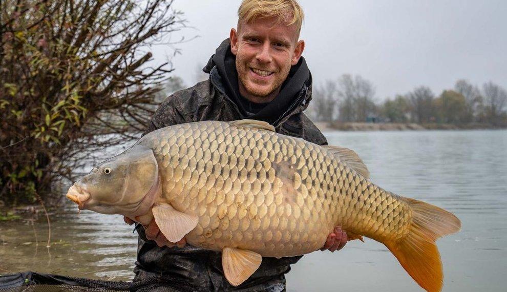 365 dagen vissen met dezelfde boilie? Mark Hofman doet het!