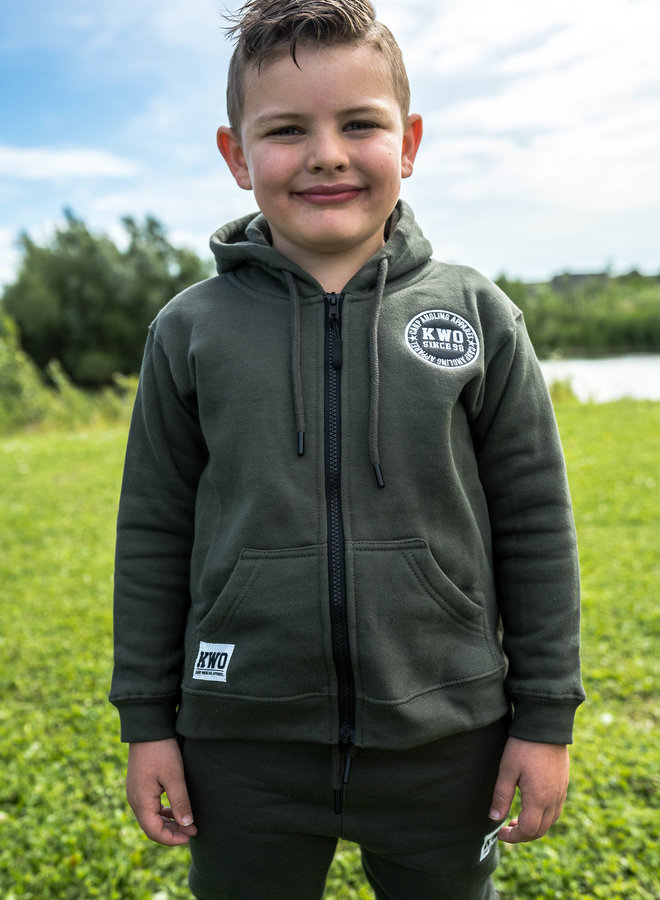 KWO Children Tracksuit - Army Green