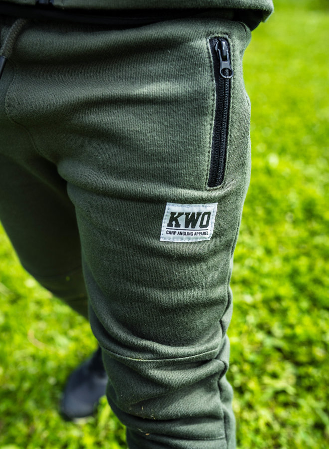 KWO Kinder Tracksuit - Army Green