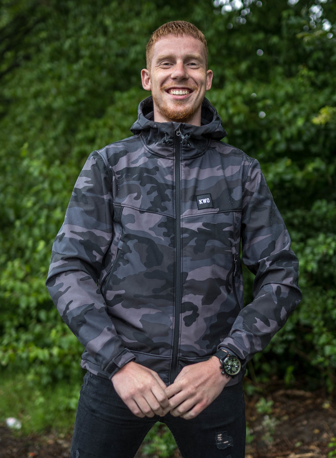 KWO Softshell - Dark Camo