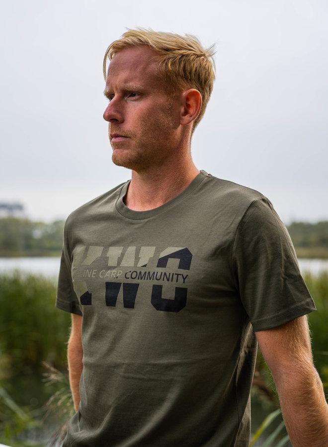 KWO Twotone T-Shirt - Army Green