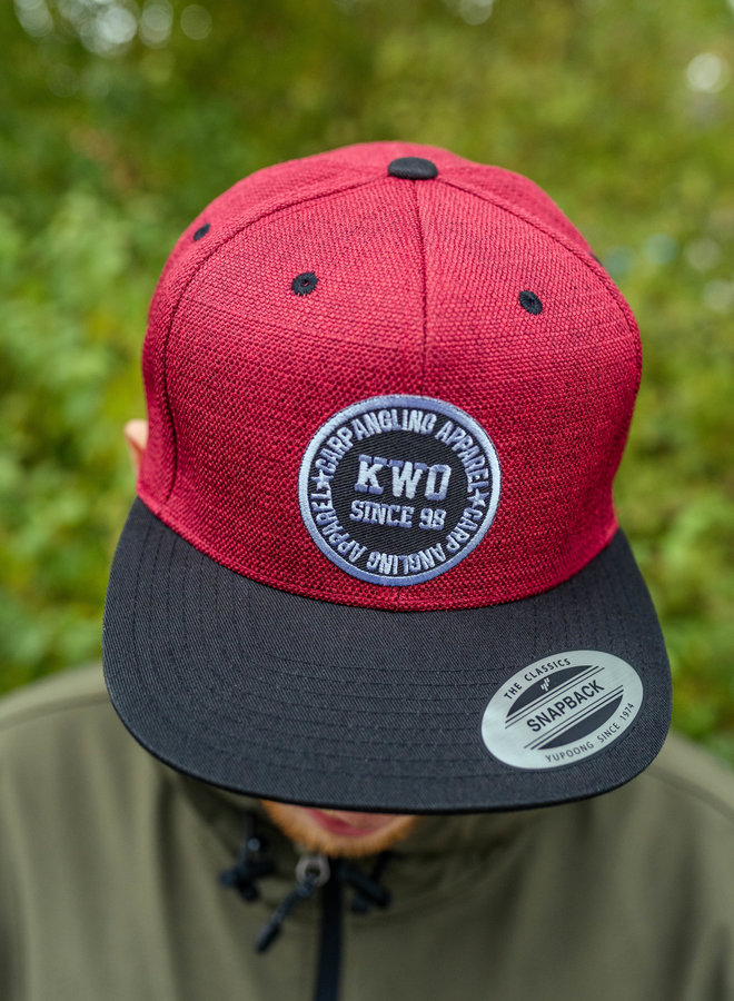 KWO Snapback - Red Edition
