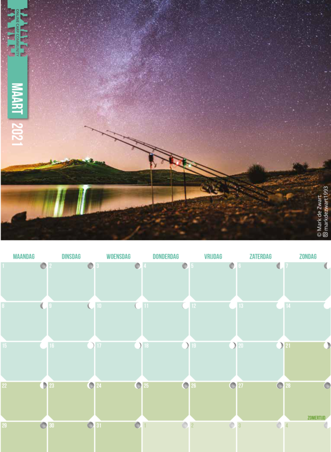 KWO Calender 2021 (DUTCH)