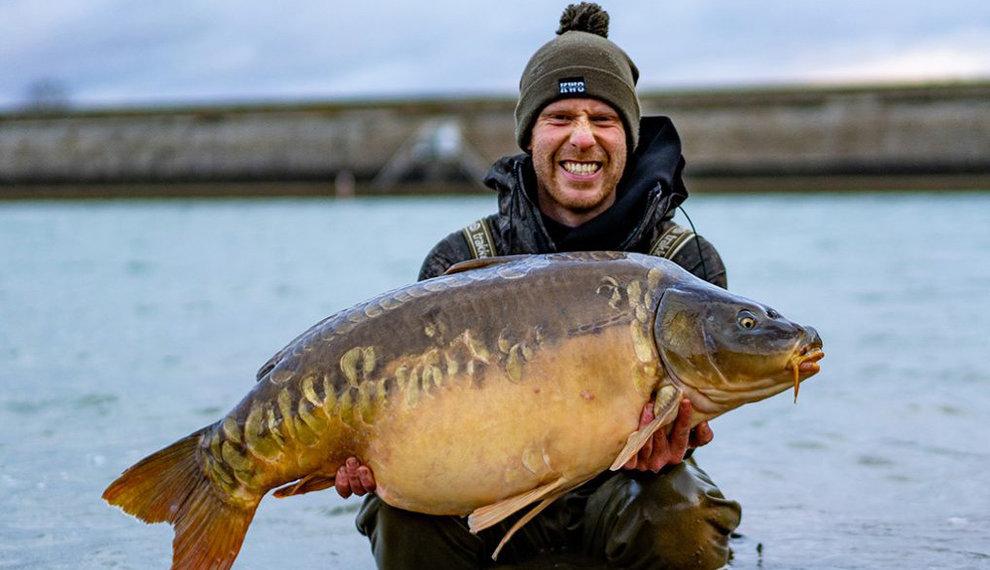 5 karper hotspots in de winter - Hier kun jij een wintervis vangen!