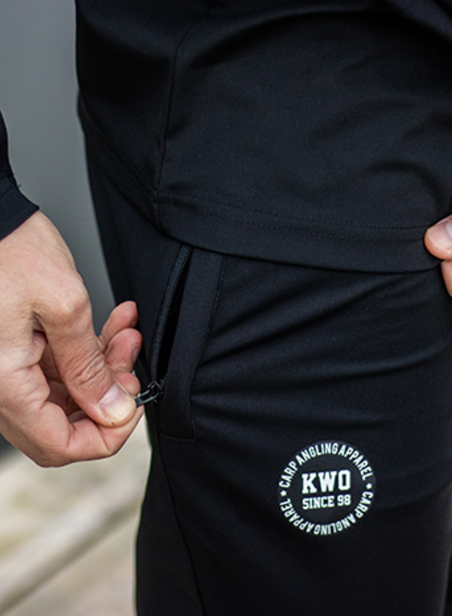 KWO Trainingsbroek - Black