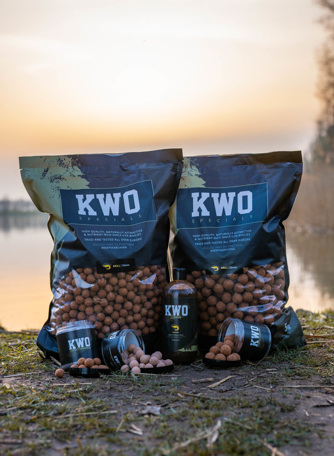 Bait Package Mixed - 10 KG KWO Krill Specials