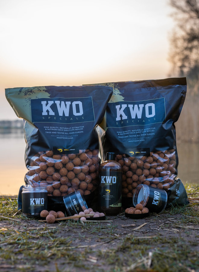 KWO Krill Specials - Bait Package Mixed