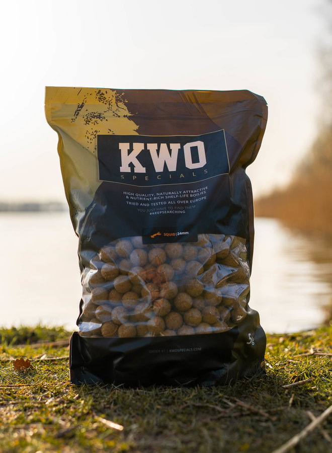 KWO Squid Specials 5KG - 24MM
