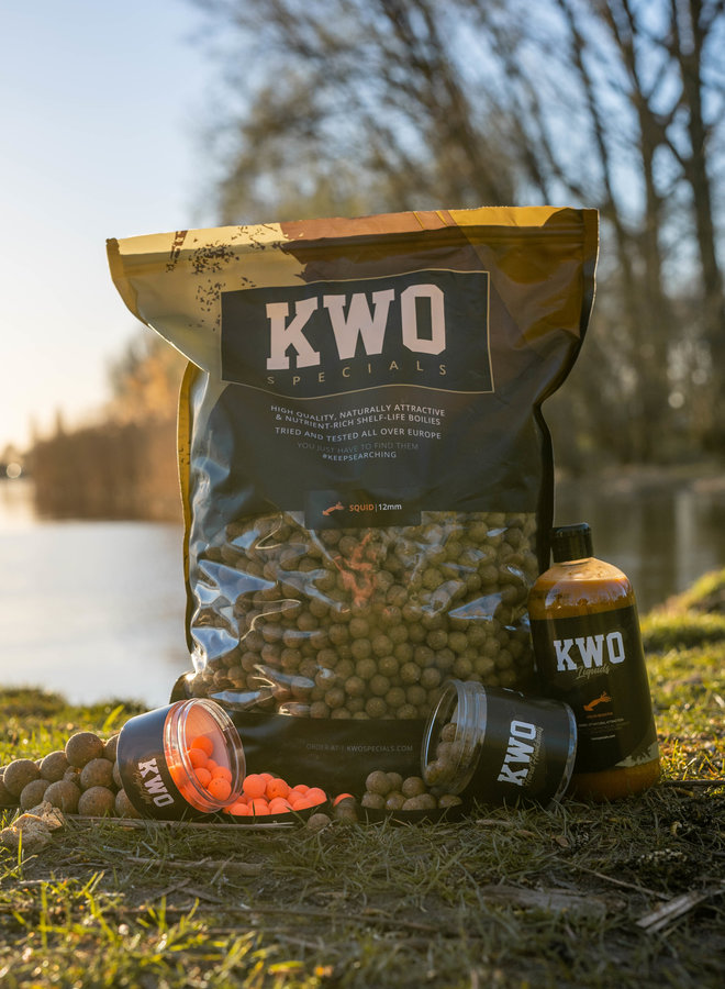 Bait Package 5KG - KWO Squid Specials