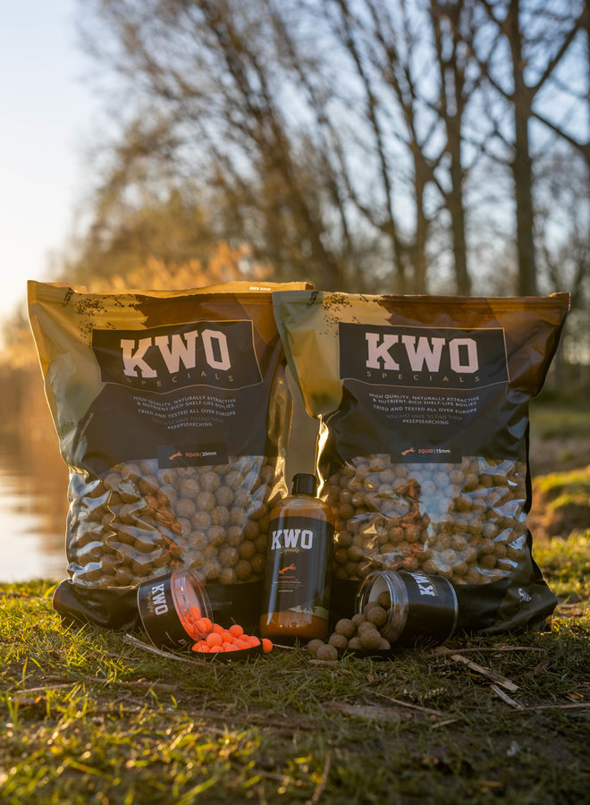 Bait Package Mixed - 10 KG KWO Squid Specials