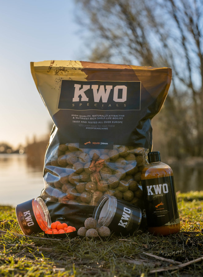 KWO Squid Specials - Bait Package 5KG