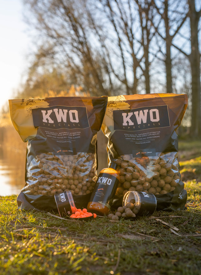 10 KG KWO Squid Specials - Bait Package Mixed