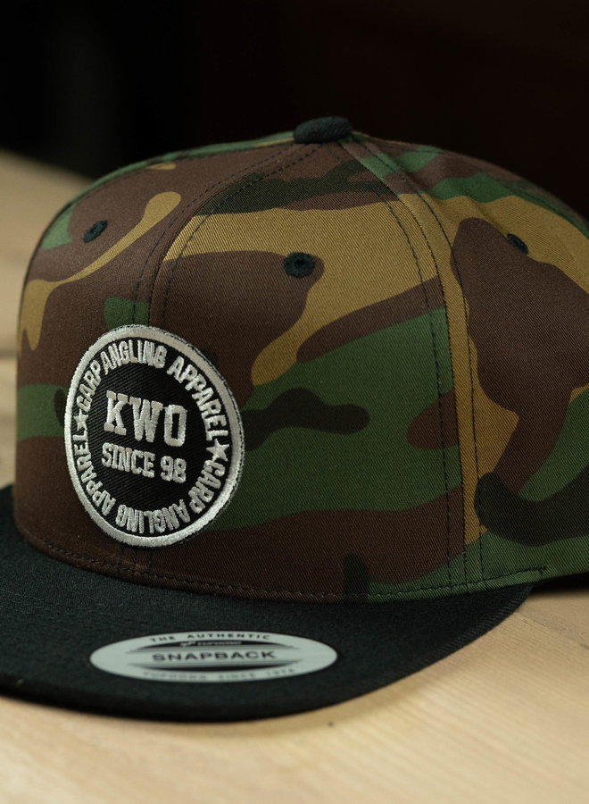 KWO Snapback - Camou / Black