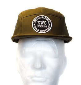 KWO 5-Panel Cap - Army Green