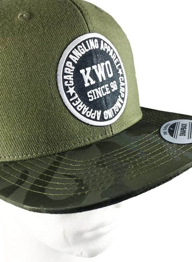 KWO Snapback - Jungle Green