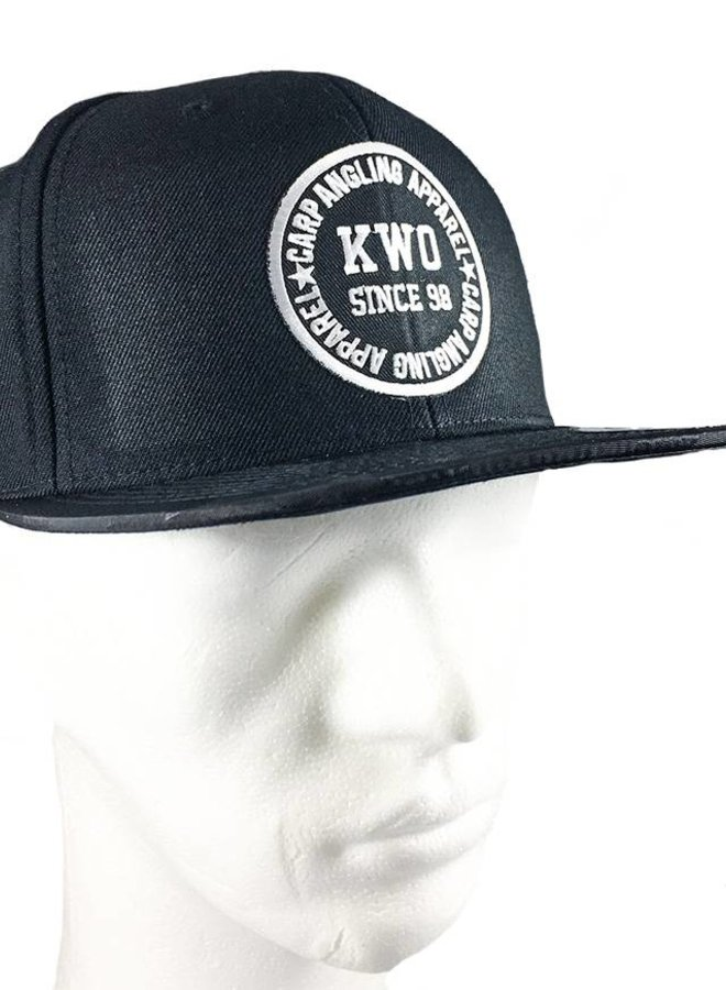 KWO Snapback - Jungle Black