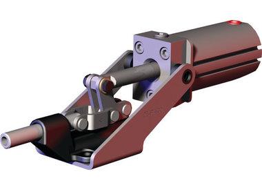 Horizontale pneumatische spanners