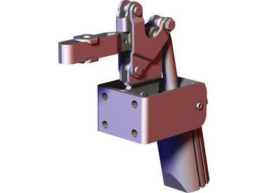 Verticale pneumatische spanners