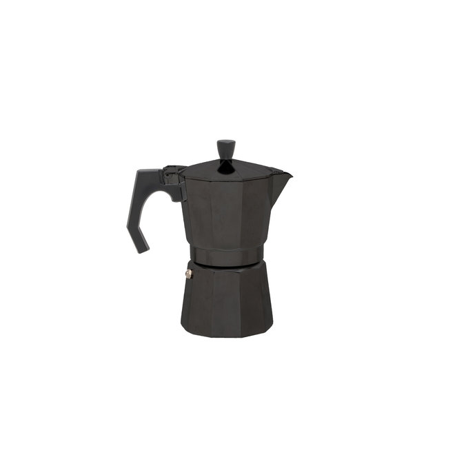 Espresso 6 - kops percolator - Zwart