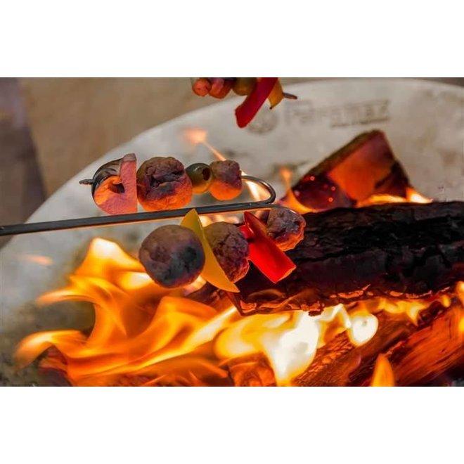Campfire Skewer LS2 - Gebogen spiezen