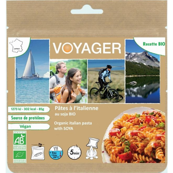 Vegetarische Pasta met Soja - Italiaanse Stijl (ECO-BAG)