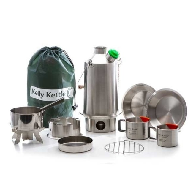 Ultimate 'Base Camp' Kit - Stainless Steel NEW