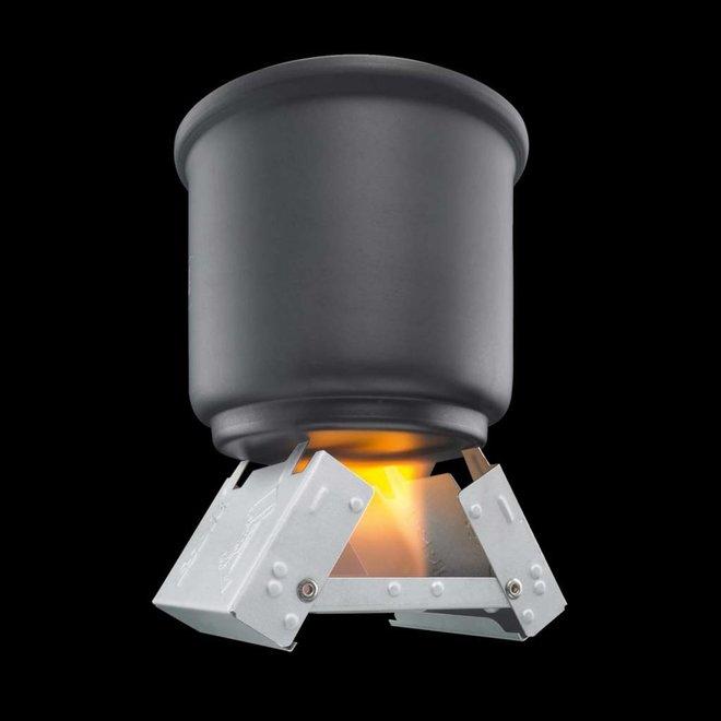 Kleine Inklapbare Brander + Solid Fuel 16x5 Gram