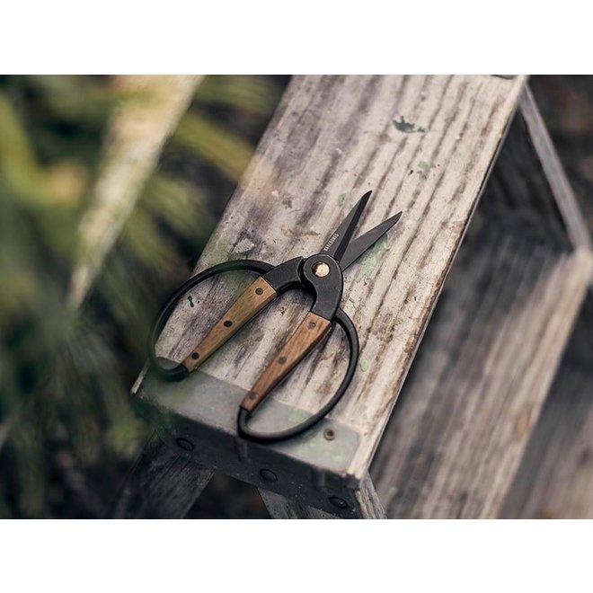 Scissors Small / Tuinschaar Klein - Walnut