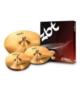Zildjian Cymbal set, ZBT, Starter Cymbal Pack, 13H/14Cr/18CrR ZBTS3P-9