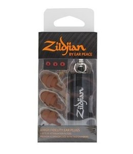 Zildjian HD oordoppen donker (paar) ZPLUGSD, XPLUGSD gehoorbescherming