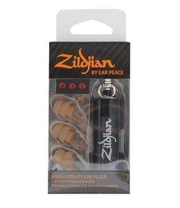 Zildjian Gehörschutz, HD-Ohrstöpsel, Bräune, (Paar-) Gehörschutz