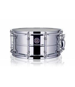 """Drum Gear Snare  Works chrome steel 14 x 6.5 """"DGS_S1465"""