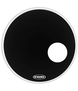 Evans EQ3 resonant black with port 18 EVA BD18RB 18'' Bassdrum Vel