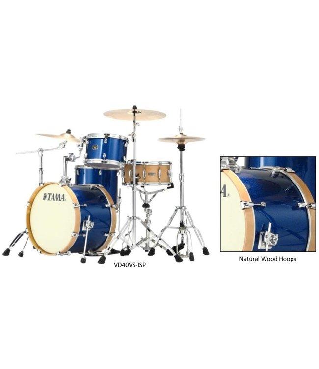 Tama VP42VS-ISP Blue sparkle Silverstar Vintage drum kit limited shellkit 3dlg without snare
