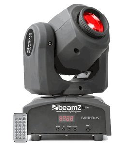 Beamz Panther 25 LED Spot Moving Head 150 460