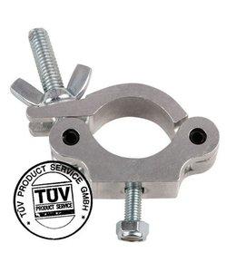 Showtec 50mm Half Coupler Slimline SWL: 300 kg TUV certification, Metal 70480