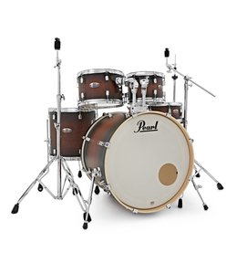 Pearl DMP925S/C260 Decade Maple Satin Brown Burst drumstel