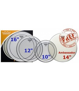 REMO PP-1870-PS ProPack Pinstripe Heads Pack 10-12 - 16-14