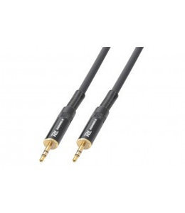 PD Power Dynamics PD Instrument  Cable 3.5mm Stereo Male - 3.5mm Male 5 m