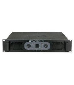 DAP audio pro DAP-Audio P-500 Stereo Power Amplifier, Black D4132B