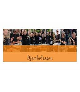 Henk Busscher Djembe les enkele groepsles Beginners 18+ 1 les