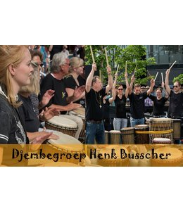 Djembegroep HB Djembe9170 Djembegroep 10 lesson loose lessons variable planning adults