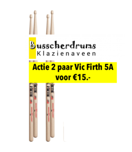 Vic Firth 5A 2pack super actie