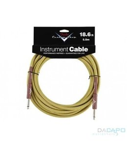 FENDER jack - jack 5.5 meter kabel instrument gitaar - line Tweed Yellow