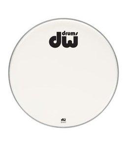 """DW DW Bass Drum vorderen Kopf glatten weißen zweilagig 23 """"DRDHAW23K"""