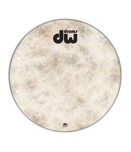 "DW DW bass drum front head Fiber Skin 23 ""DRDHFS23K"