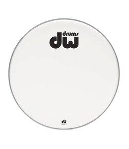 """DW DW Bass Drum vorderen Kopf Bilayer weiß beschichtet 23 """"DRDHACW23K"""