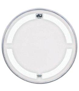 """DW DW bass drum batter drumhead white 23 """"CC-23K"""