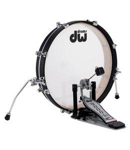 DW drumworkshop PANCAKE DDBD0320BLCR - DESIGN SERIES BASS DRUM 20 x 2.5 winkeldemo